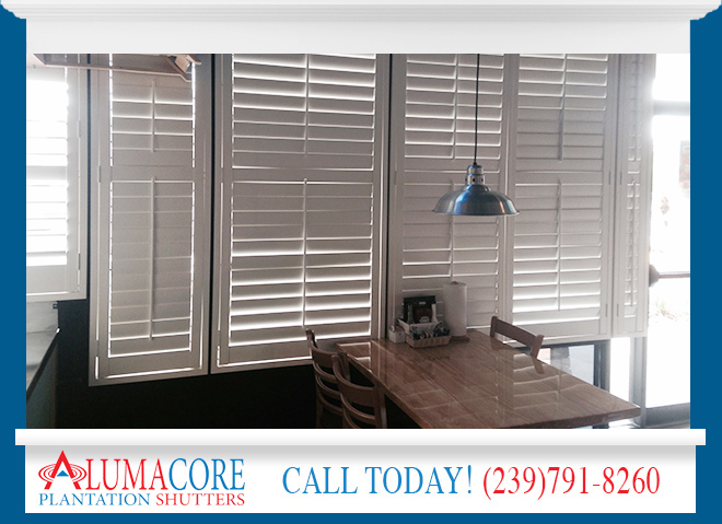 Shutters For Restaurants In Estero Fl