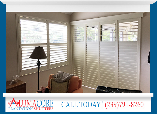 Sliding Glass Door Shutters In St Petersburg Fl